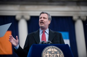 Bill de Blasio/flickr. Photographer: William Alatriste